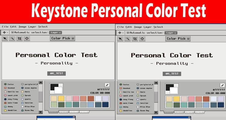 Keystone Personal Color Test 2021